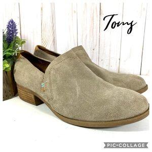 Toms desert taupe Shaye booties 8.5